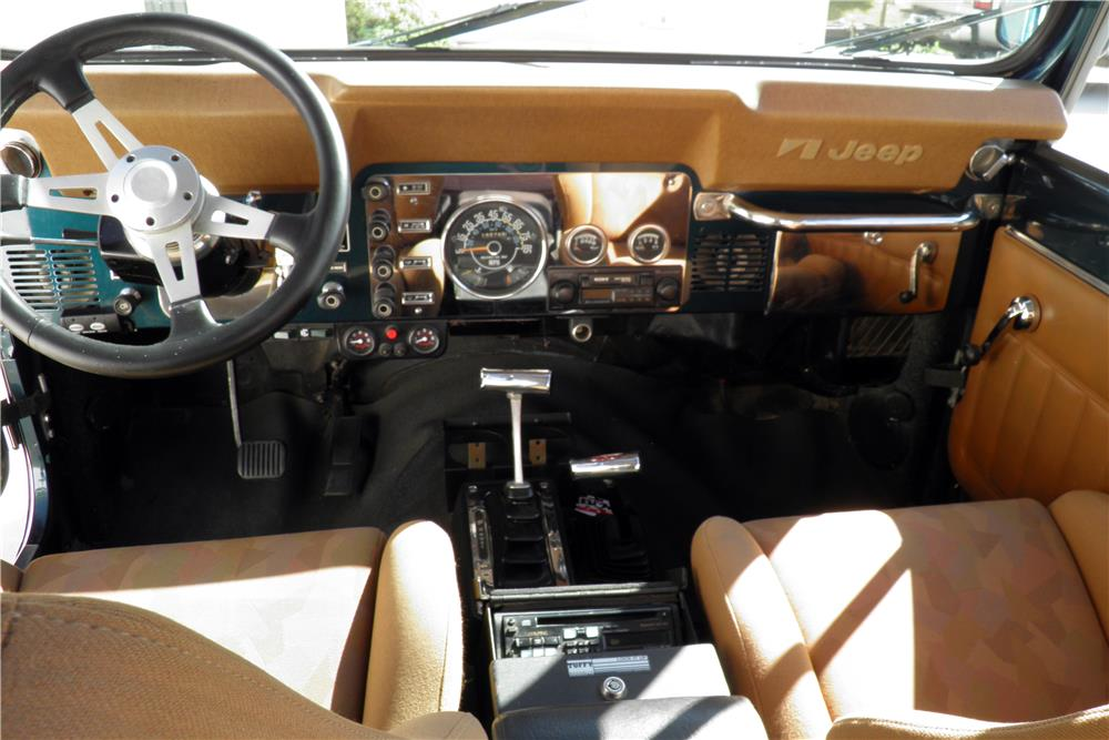 1981 JEEP SCRAMBLER PICKUP - Interior - 187018