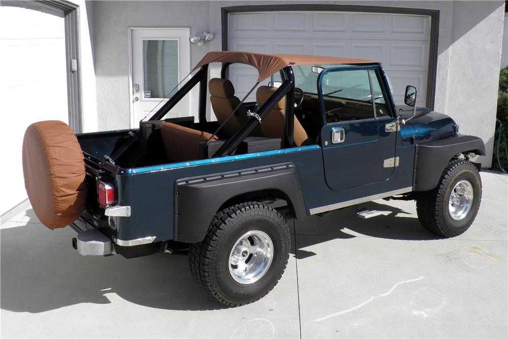 1981 JEEP SCRAMBLER PICKUP - Rear 3/4 - 187018