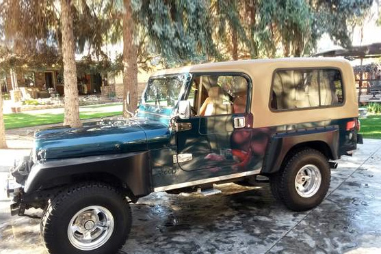 1981 JEEP SCRAMBLER PICKUP - Side Profile - 187018