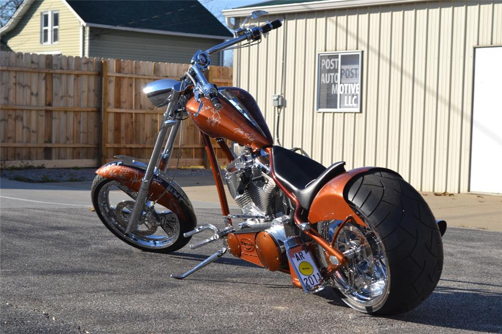 "2008 ORANGE COUNTY CHOPPERS ""AUTOGRAPH BIKE"" - Rear 3/4 - 187031"