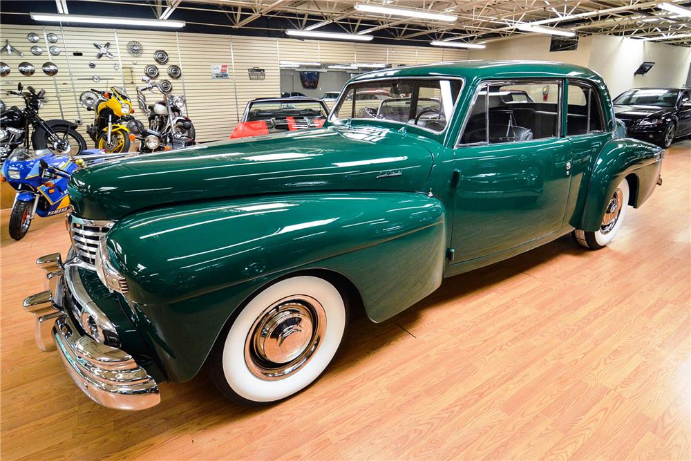1948 LINCOLN CONTINENTAL - Front 3/4 - 187032