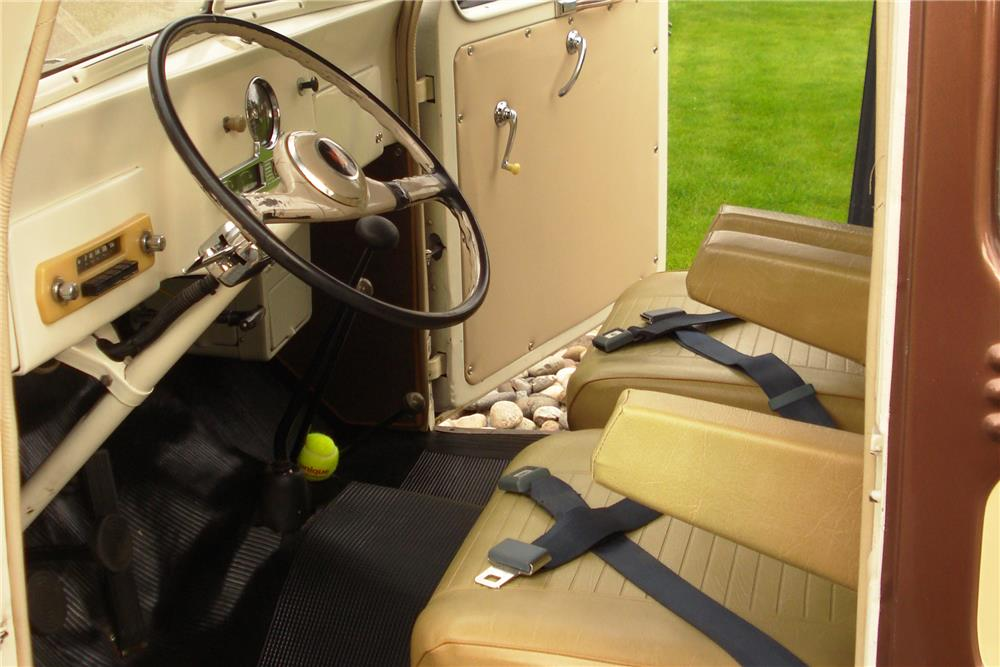 1955 WILLYS JEEP 4X4 - Interior - 187040