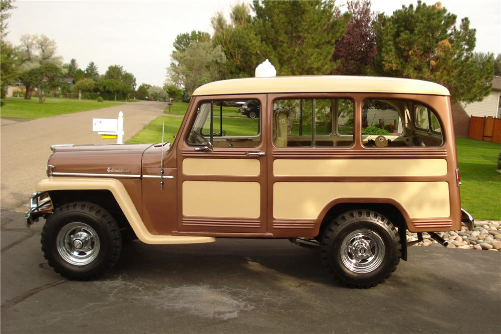 1955 WILLYS JEEP 4X4 - Side Profile - 187040