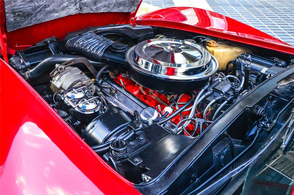 1976 CHEVROLET CORVETTE - Engine - 187042
