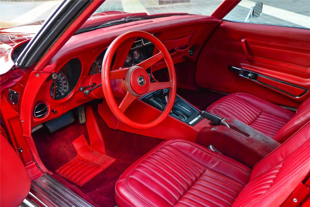 1976 CHEVROLET CORVETTE - Interior - 187042