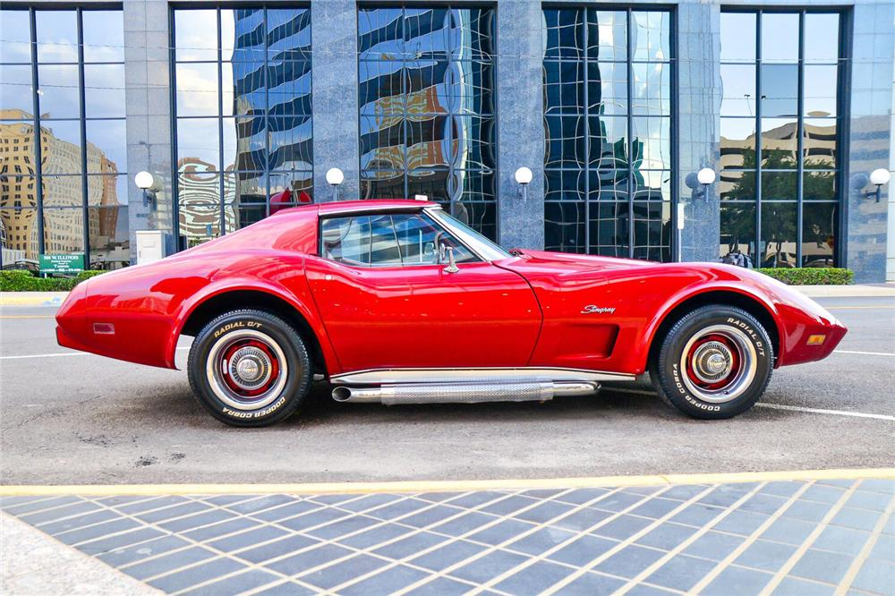 1976 CHEVROLET CORVETTE - Side Profile - 187042