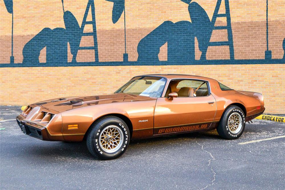 1979 PONTIAC FIREBIRD FORMULA - Side Profile - 187043