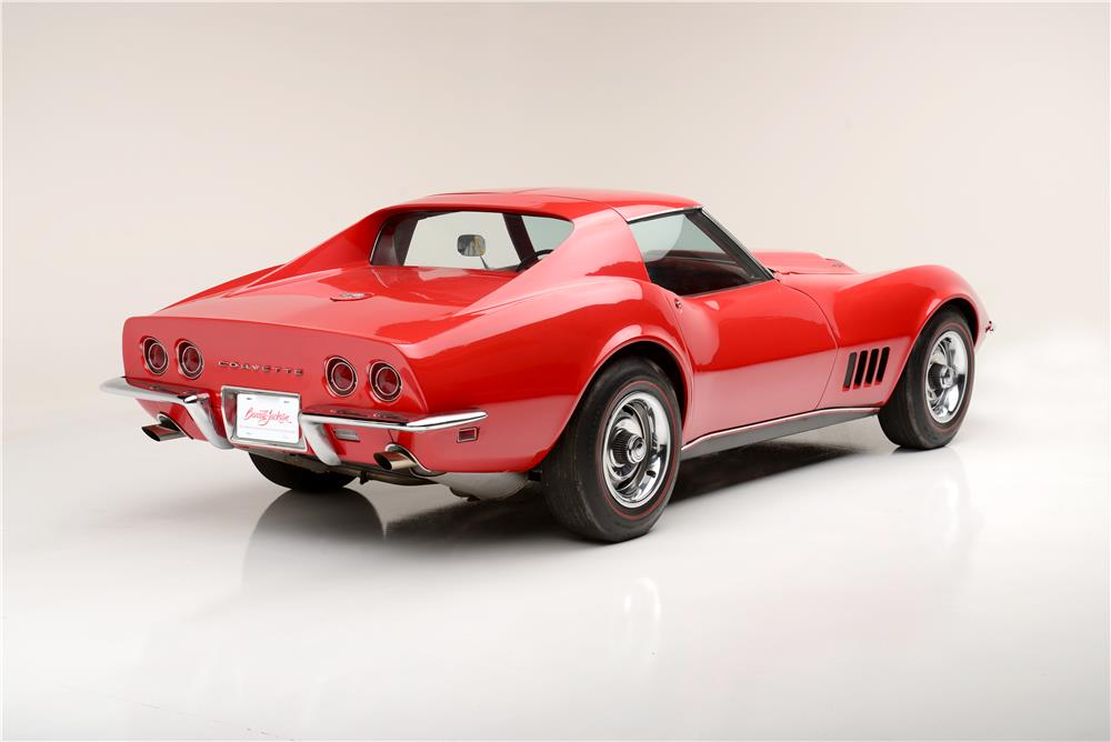 1968 CHEVROLET CORVETTE L88 - Rear 3/4 - 187044