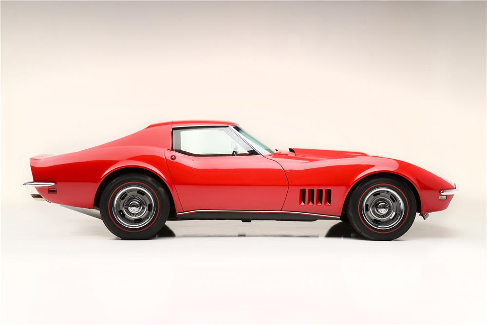 1968 CHEVROLET CORVETTE L88 - Side Profile - 187044