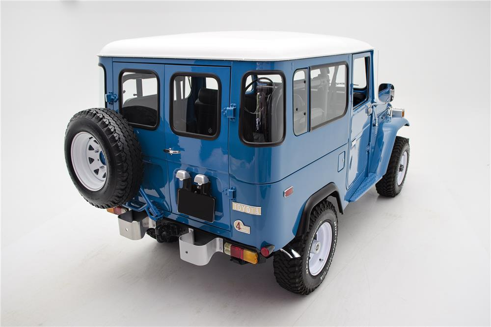 1979 TOYOTA LAND CRUISER FJ-40  - Rear 3/4 - 187048
