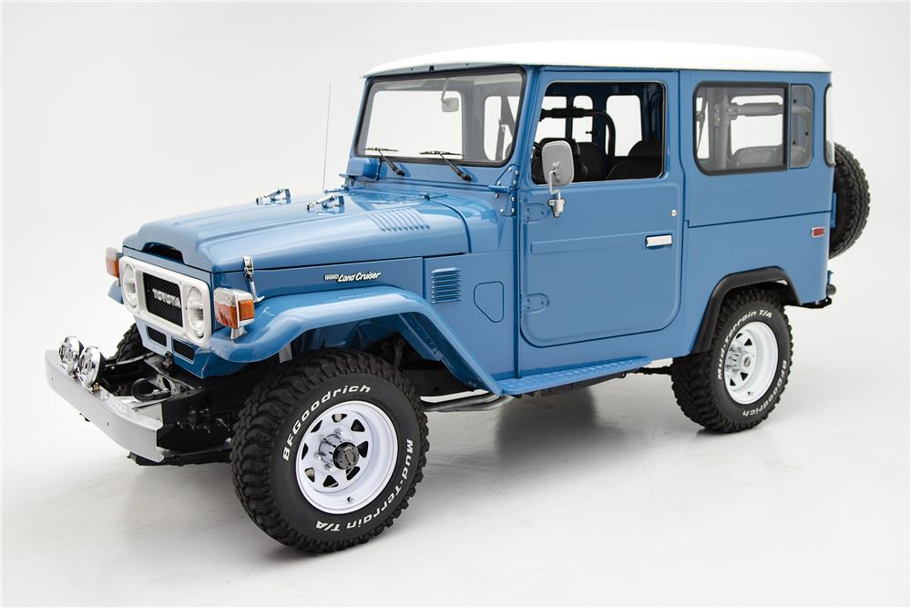 1979 TOYOTA LAND CRUISER FJ-40  - Side Profile - 187048