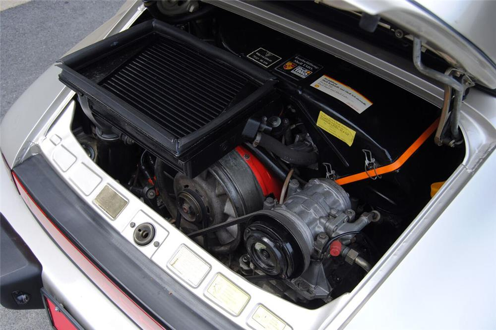 1989 PORSCHE 911 TURBO CABRIOLET - Engine - 187060