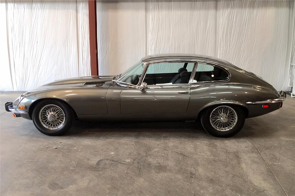 1973 JAGUAR XKE 2+2 - Side Profile - 187064