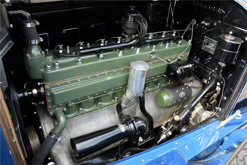 "1929 PACKARD 640 ""STRAIGHT 8"" ROADSTER - Engine - 187065"
