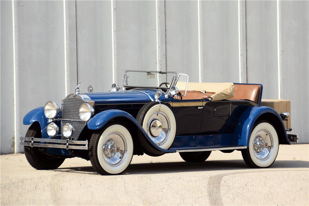 "1929 PACKARD 640 ""STRAIGHT 8"" ROADSTER - Front 3/4 - 187065"
