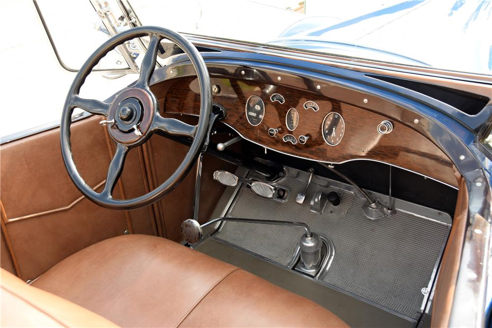 "1929 PACKARD 640 ""STRAIGHT 8"" ROADSTER - Interior - 187065"