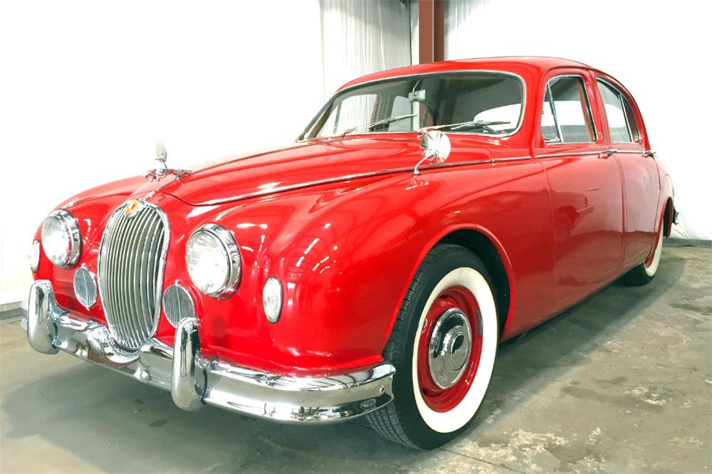 1959 JAGUAR MARK I SEDAN - Front 3/4 - 187066