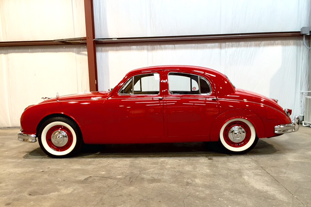 1959 JAGUAR MARK I SEDAN - Side Profile - 187066