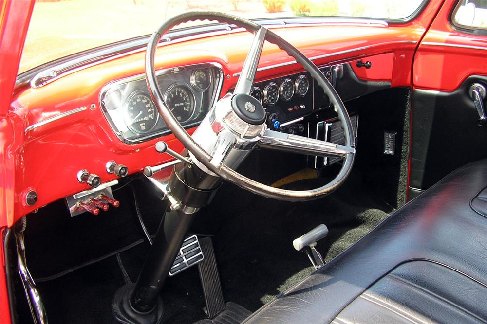1953 FORD F-100 CUSTOM PICKUP - Interior - 187070