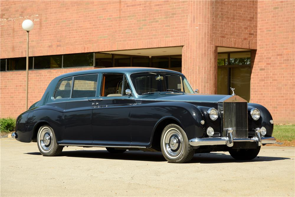 1962 ROLLS-ROYCE PHANTOM V LIMOUSINE - Side Profile - 187073