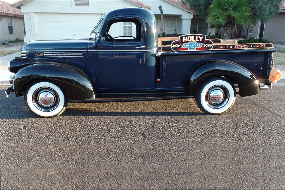 1946 CHEVROLET PICKUP - Side Profile - 187084