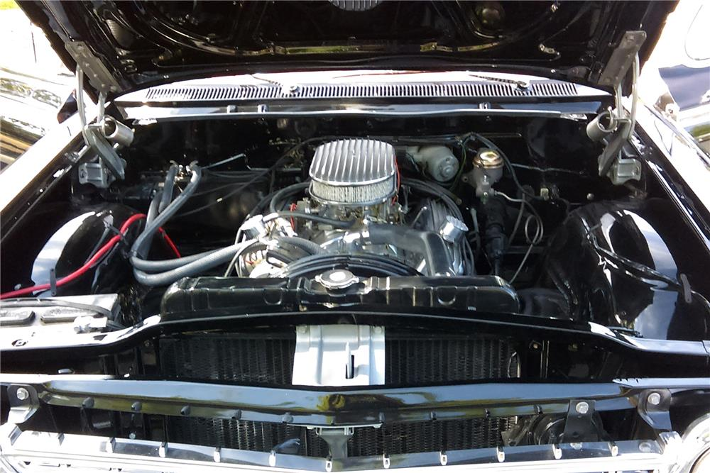 1962 CHEVROLET IMPALA CUSTOM COUPE - Engine - 187099