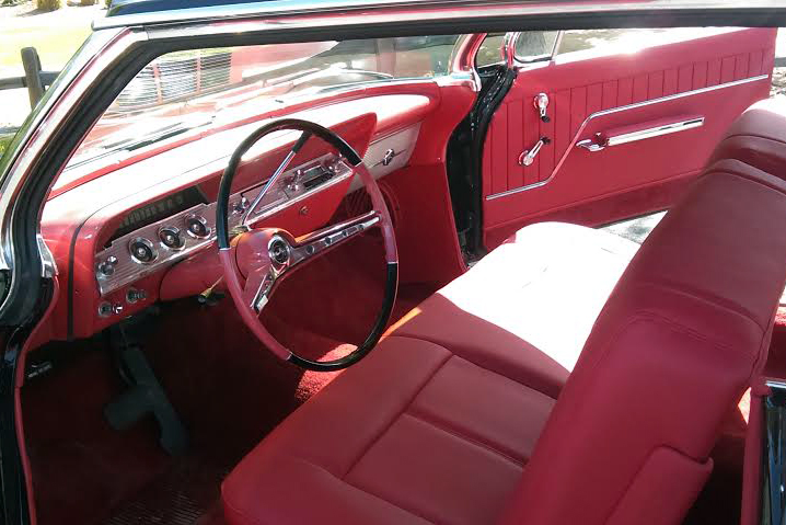 1962 CHEVROLET IMPALA CUSTOM COUPE - Interior - 187099