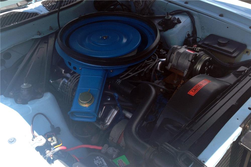 1973 FORD MUSTANG MACH 1 FASTBACK - Engine - 187111