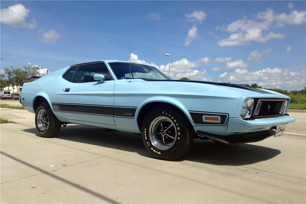 1973 FORD MUSTANG MACH 1 FASTBACK - Front 3/4 - 187111