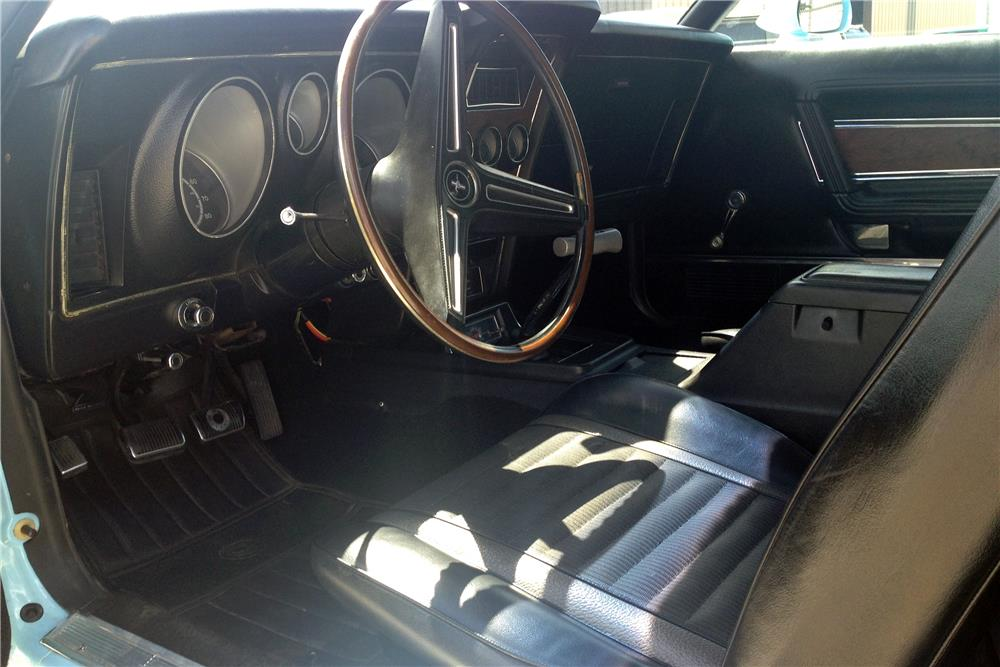1973 FORD MUSTANG MACH 1 FASTBACK - Interior - 187111