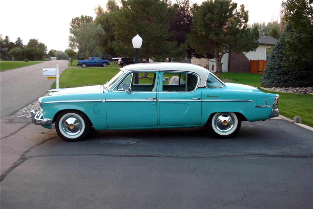 1955 STUDEBAKER PRESIDENT 4-DOOR SEDAN - Engine - 187114