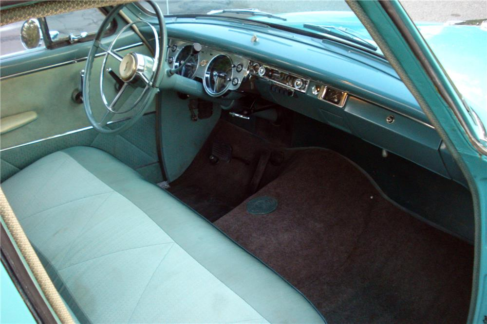 1955 STUDEBAKER PRESIDENT 4-DOOR SEDAN - Interior - 187114