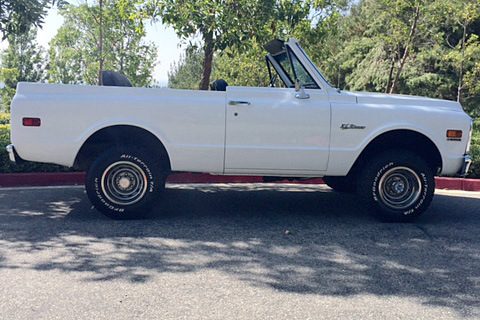 1971 CHEVROLET BLAZER 4X4 - Side Profile - 187120