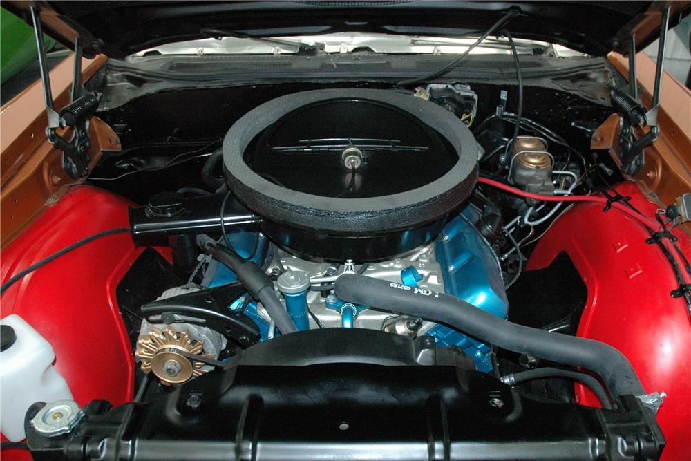 1971 OLDSMOBILE 442 W30  - Engine - 187124