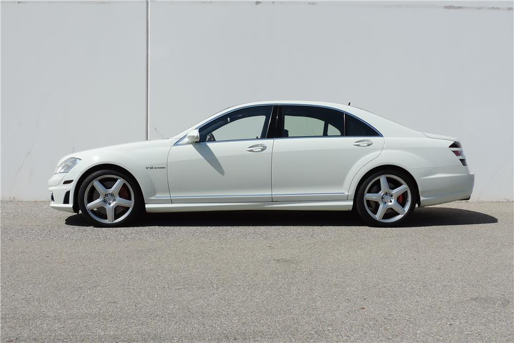 2007 MERCEDES-BENZ S65 AMG SEDAN - Side Profile - 187132
