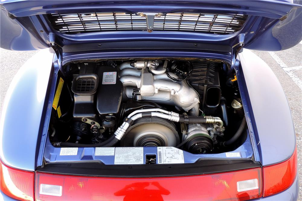 1997 PORSCHE 911 CARRERA CABRIOLET - Engine - 187133