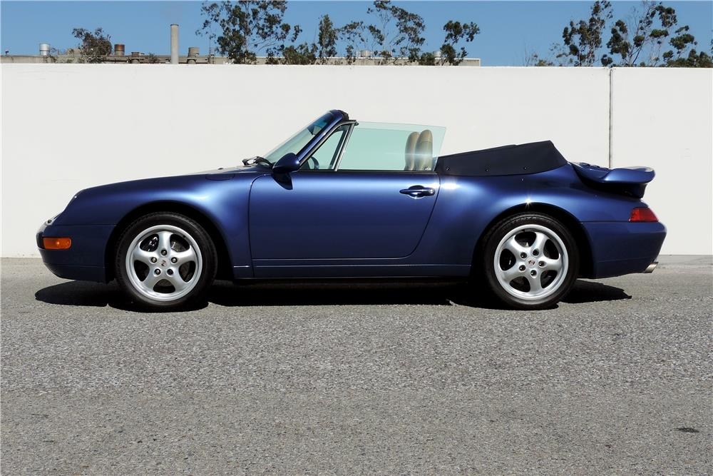 1997 PORSCHE 911 CARRERA CABRIOLET - Side Profile - 187133