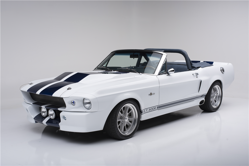 1968 SHELBY GT500E CUSTOM CONVERTIBLE CSE-001C - Front 3/4 - 187136
