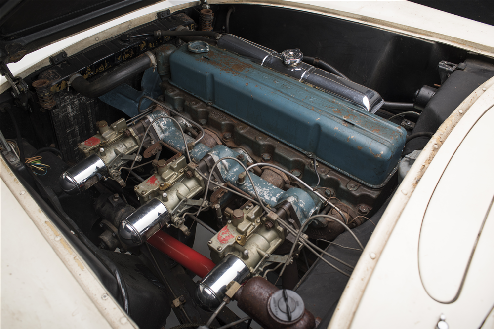 "1954 CHEVROLET ""ENTOMBED"" CORVETTE - Engine - 187137"
