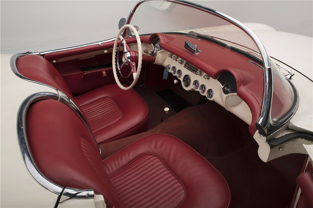 "1954 CHEVROLET ""ENTOMBED"" CORVETTE - Interior - 187137"