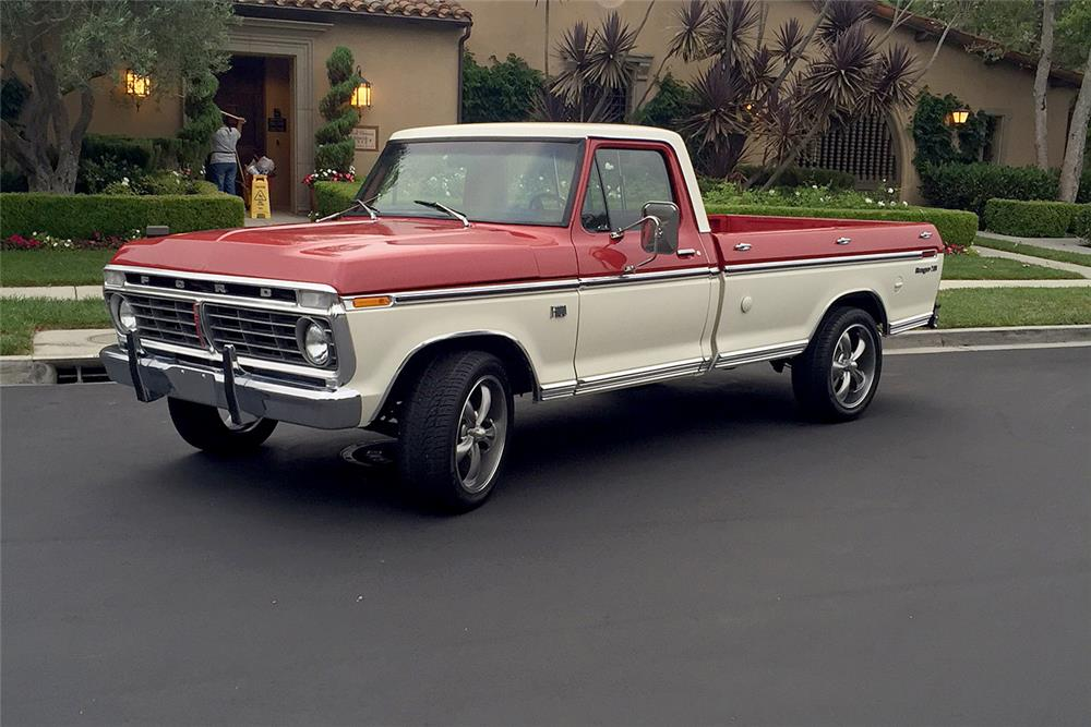 1974 FORD F-100 PICKUP - Front 3/4 - 187140