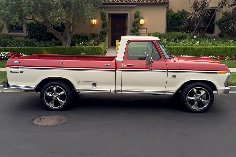 1974 FORD F-100 PICKUP - Side Profile - 187140