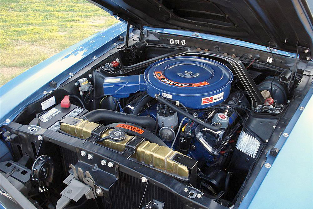 1970 FORD MACH 1 MUSTANG - Engine - 187158