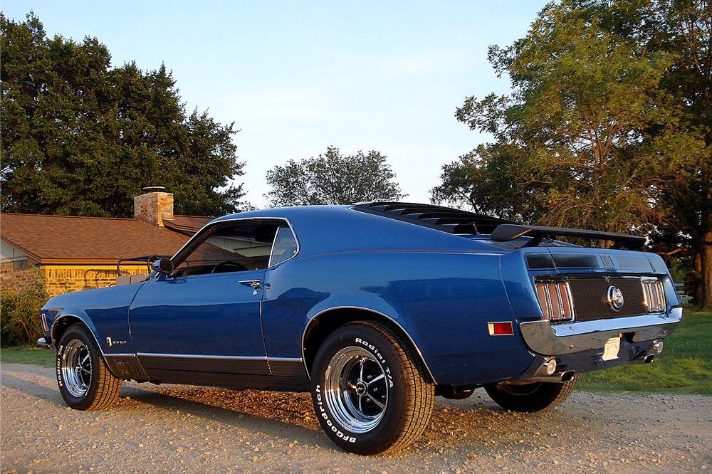 1970 FORD MACH 1 MUSTANG - Rear 3/4 - 187158
