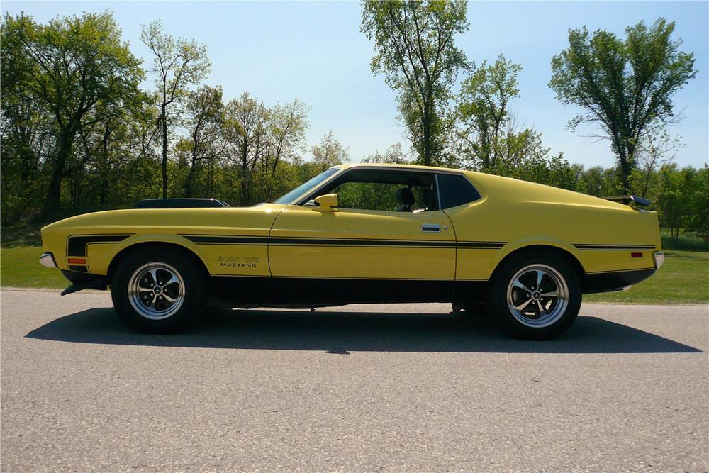 1971 Ford Mustang Boss 351 Custom Fastback 187161