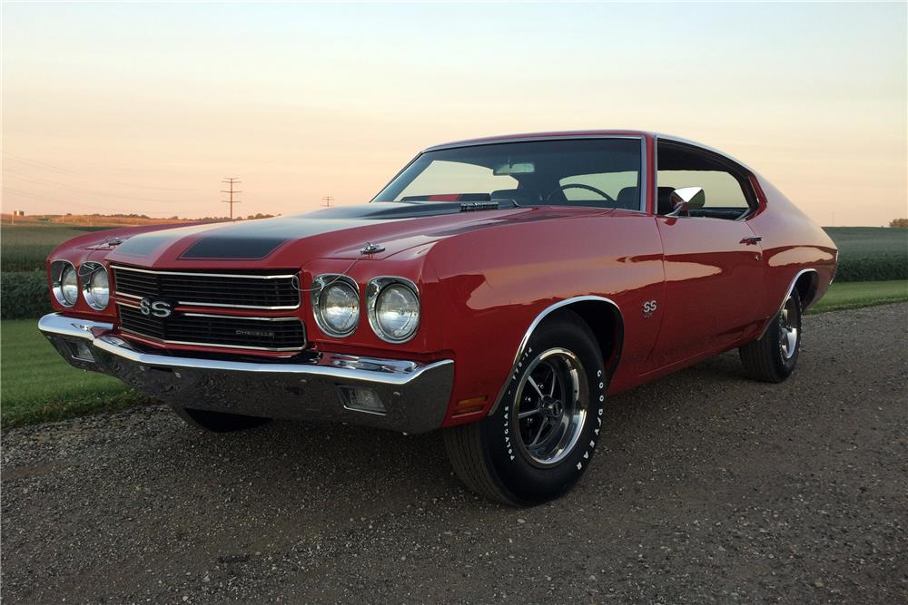 1970 CHEVROLET CHEVELLE LS5 SS - Front 3/4 - 187164