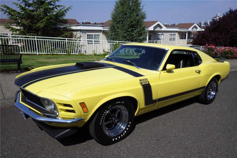 1970 ford mustang boss 302 fastback 187187. Black Bedroom Furniture Sets. Home Design Ideas