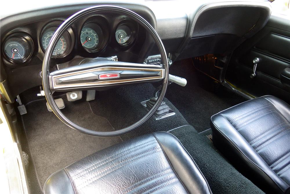 1970 FORD MUSTANG BOSS 302 FASTBACK - Interior - 187187