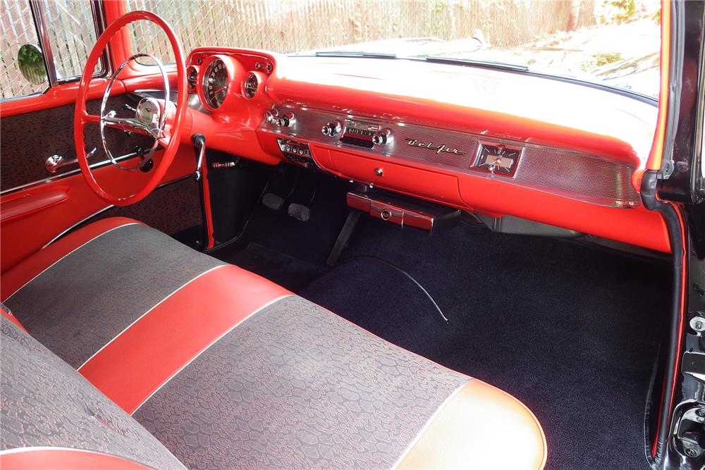 1957 CHEVROLET BEL AIR  - Interior - 187188