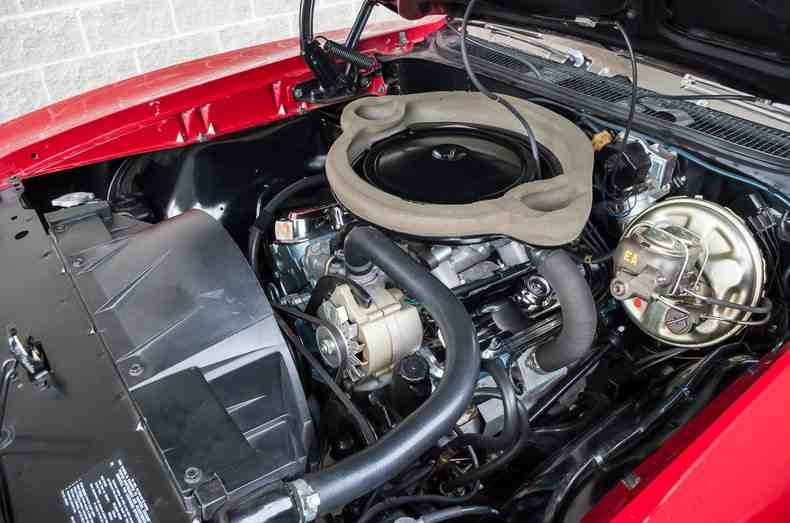 1969 PONTIAC GTO CONVERTIBLE - Engine - 187192